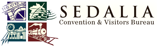 Sedalia Convention & Visitors Bureau Retina Logo