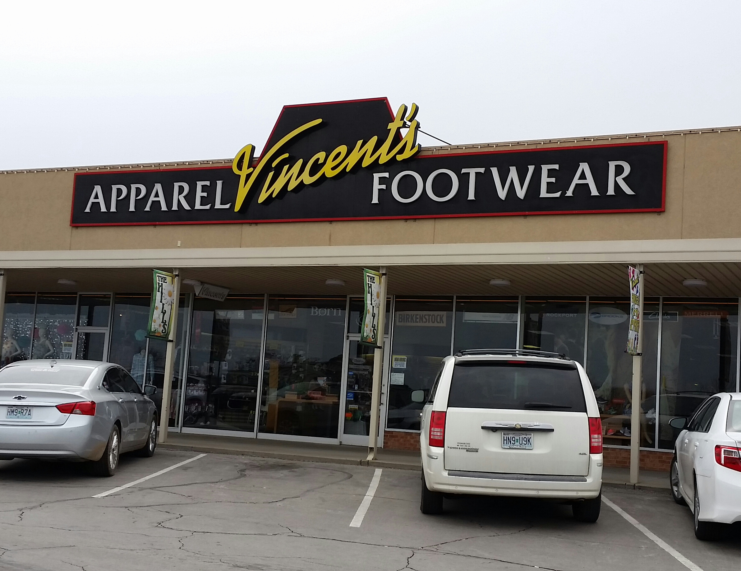 Vincent's Footwear and Apparel