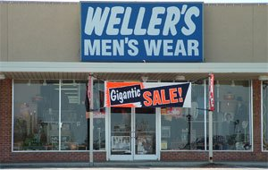 Weller's Men's Wear