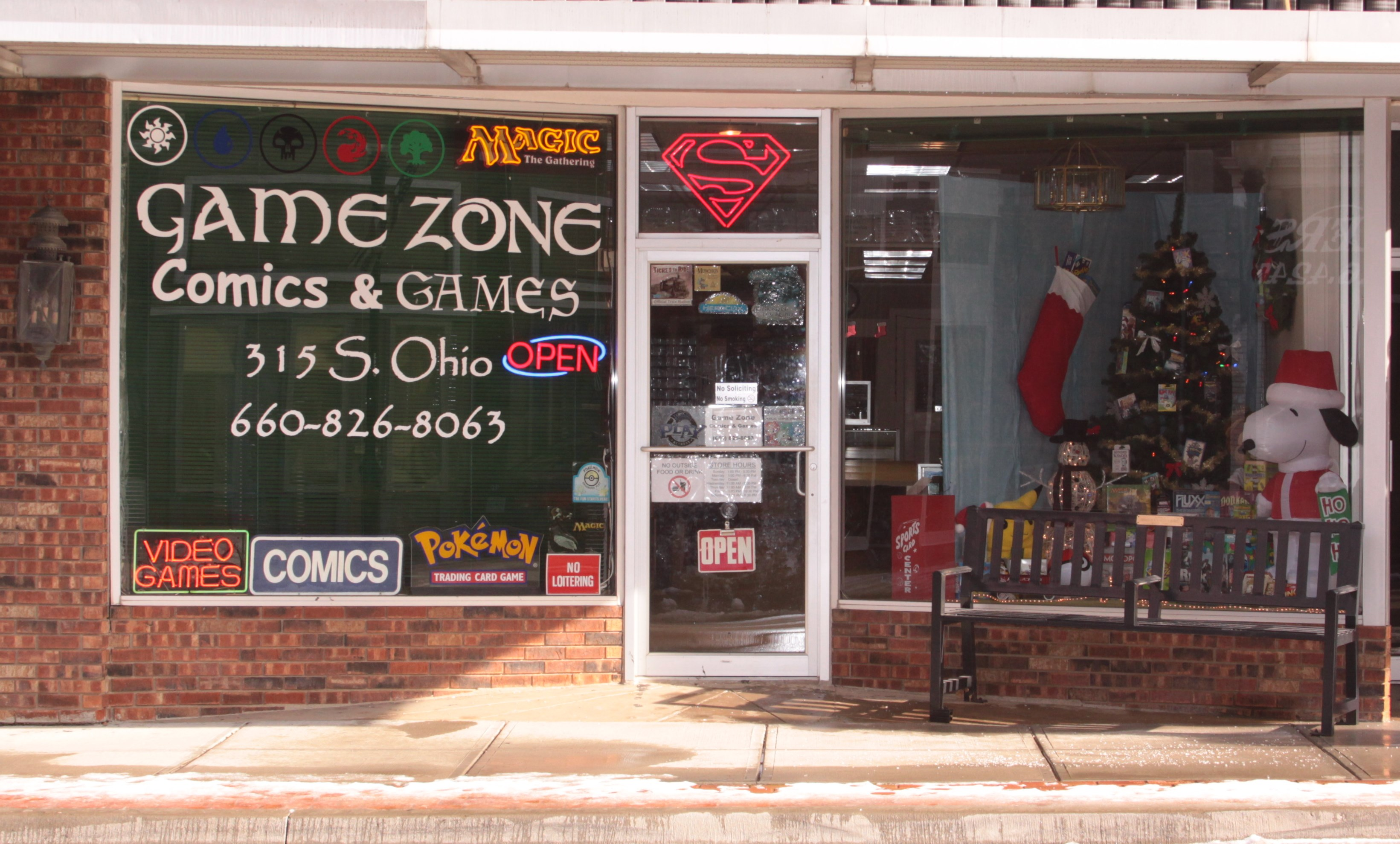 Game Zone Comics & Games